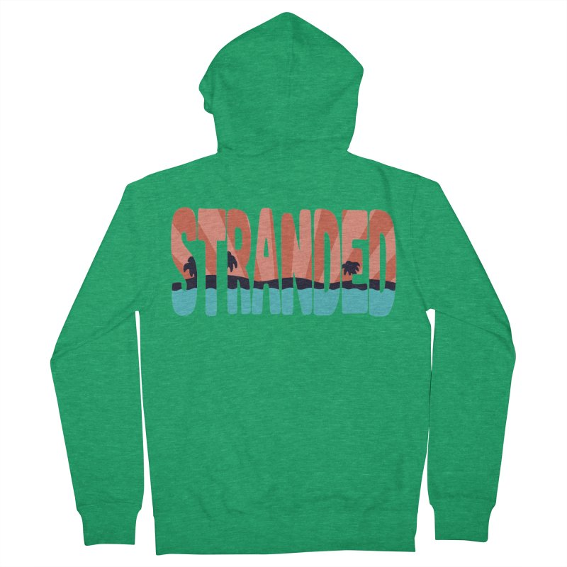 STR\NDED Women's Zip-Up Hoody by DYLAN'S SHOP