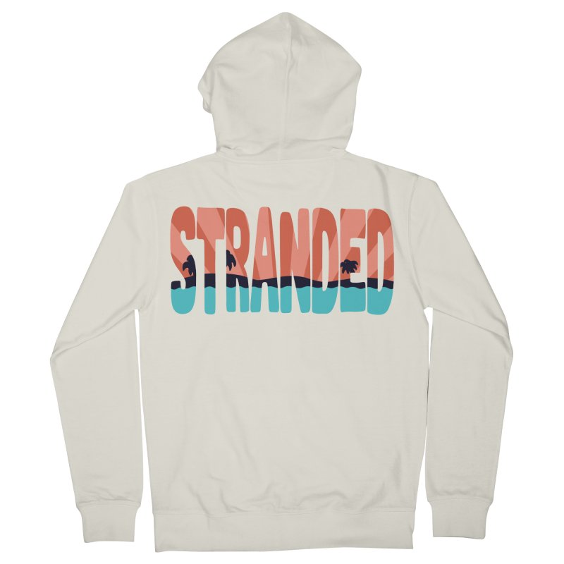 STR\NDED Men's Zip-Up Hoody by DYLAN'S SHOP