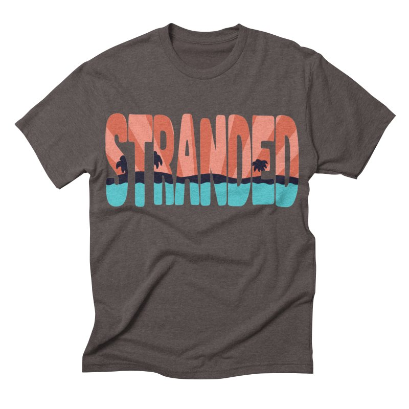 STR\NDED Men's Triblend T-shirt by DYLAN'S SHOP