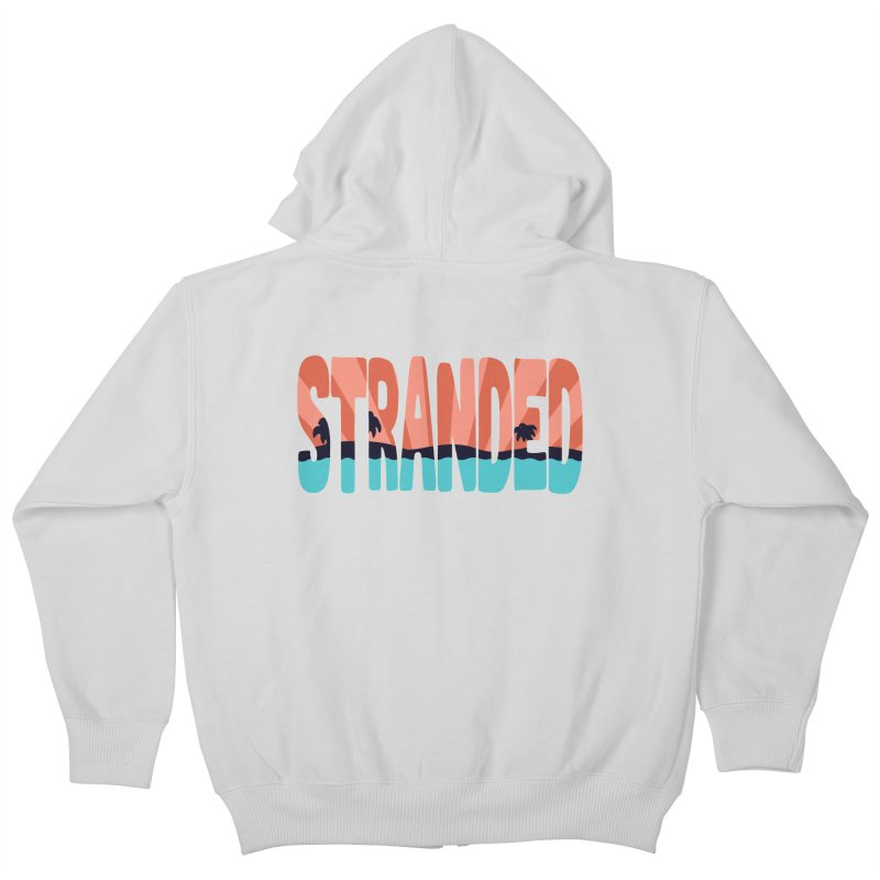 STR\NDED Kids Zip-Up Hoody by DYLAN'S SHOP