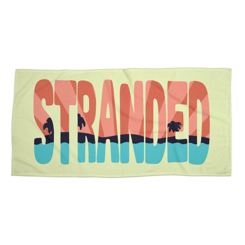 STR\NDED Accessories Beach Towel by DYLAN'S SHOP