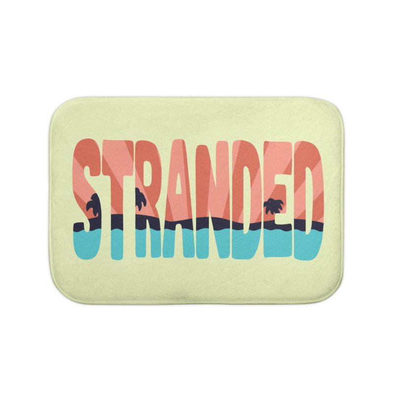 STR\NDED Home Bath Mat by DYLAN'S SHOP