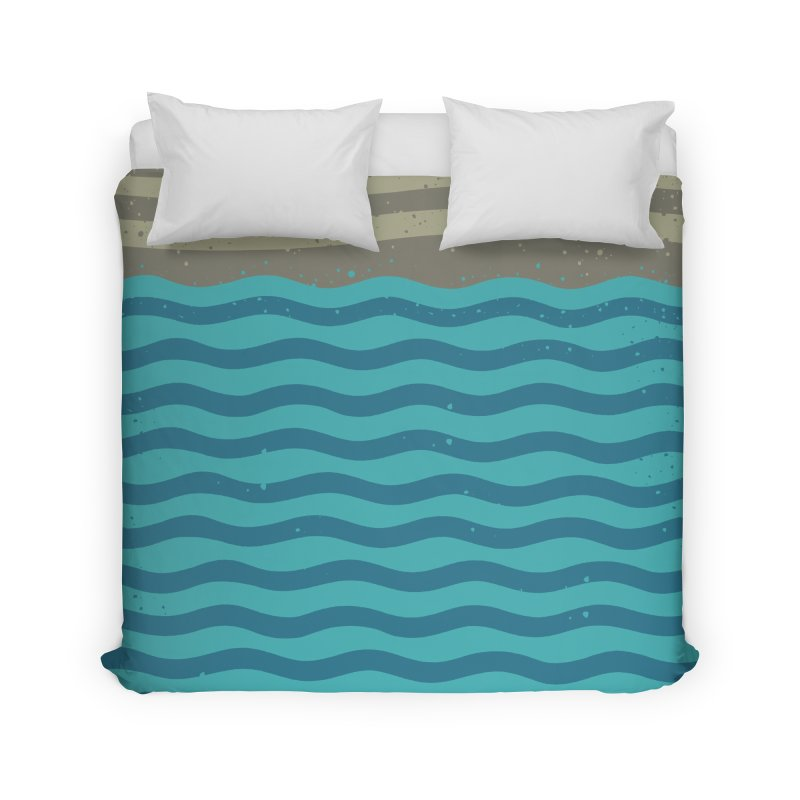 A SHORE TH/NG Home Duvet by DYLAN'S SHOP