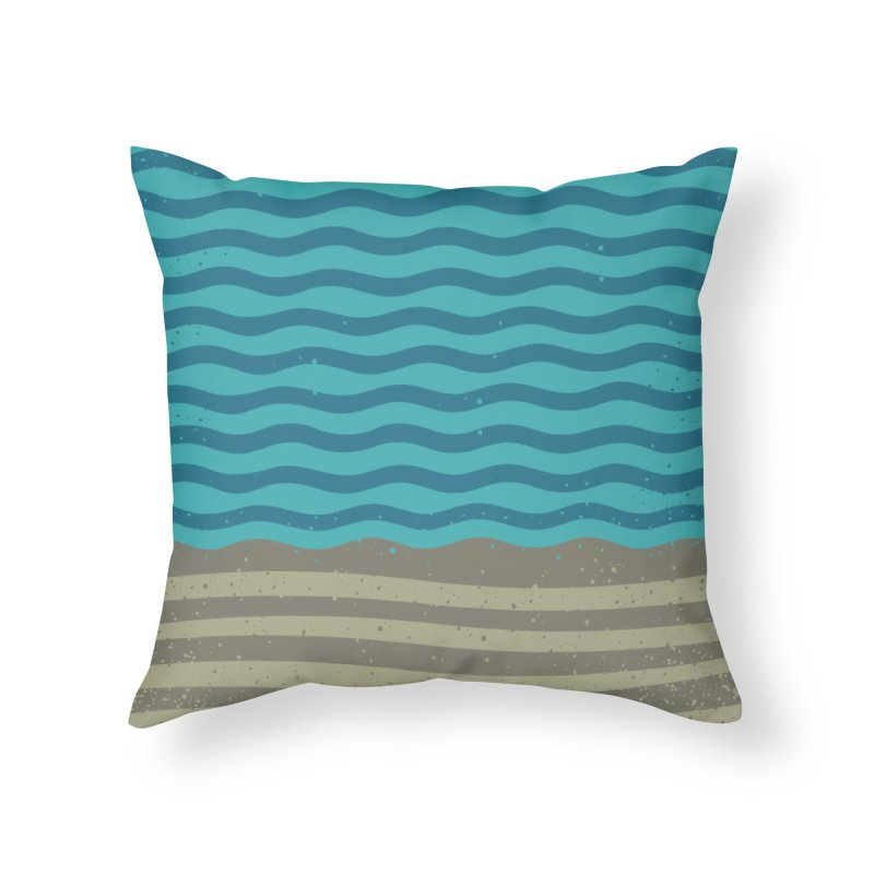 A SHORE TH/NG Home Throw Pillow by DYLAN'S SHOP