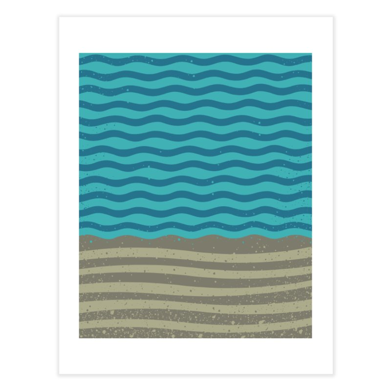 A SHORE TH/NG Home Fine Art Print by DYLAN'S SHOP