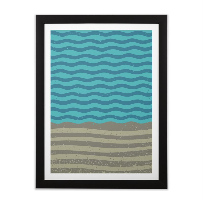 A SHORE TH/NG Home Framed Fine Art Print by DYLAN'S SHOP