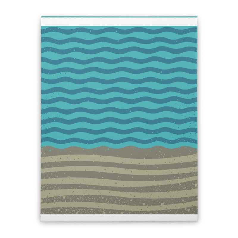 A SHORE TH/NG Home Stretched Canvas by DYLAN'S SHOP