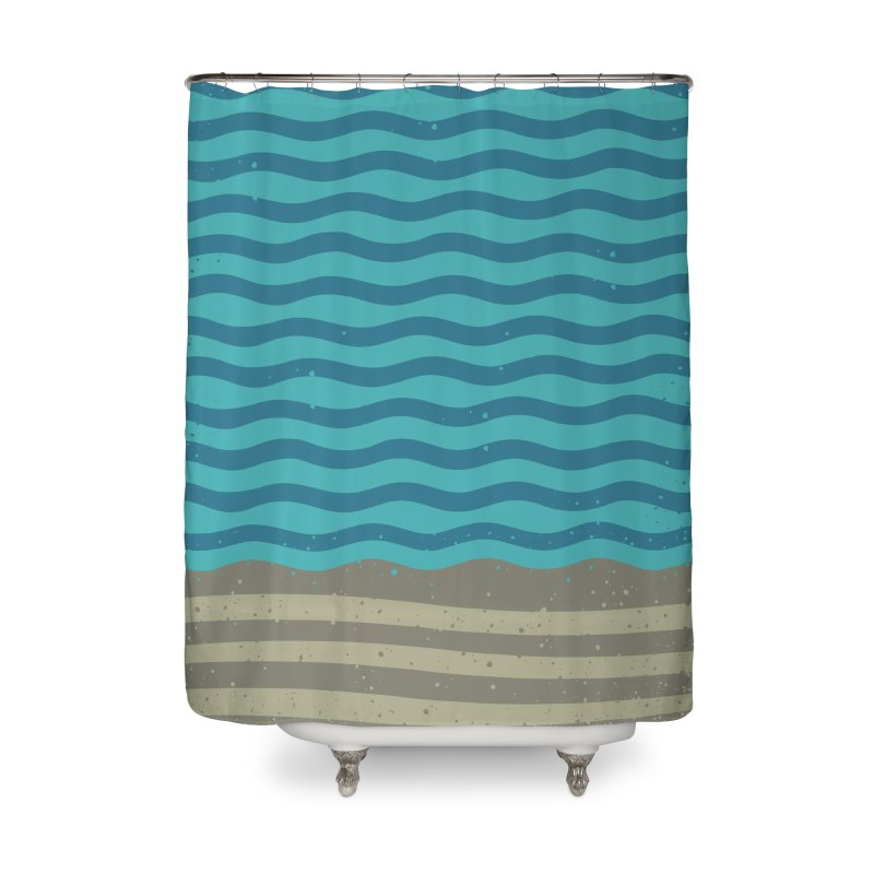 A SHORE TH/NG Home Shower Curtain by DYLAN'S SHOP