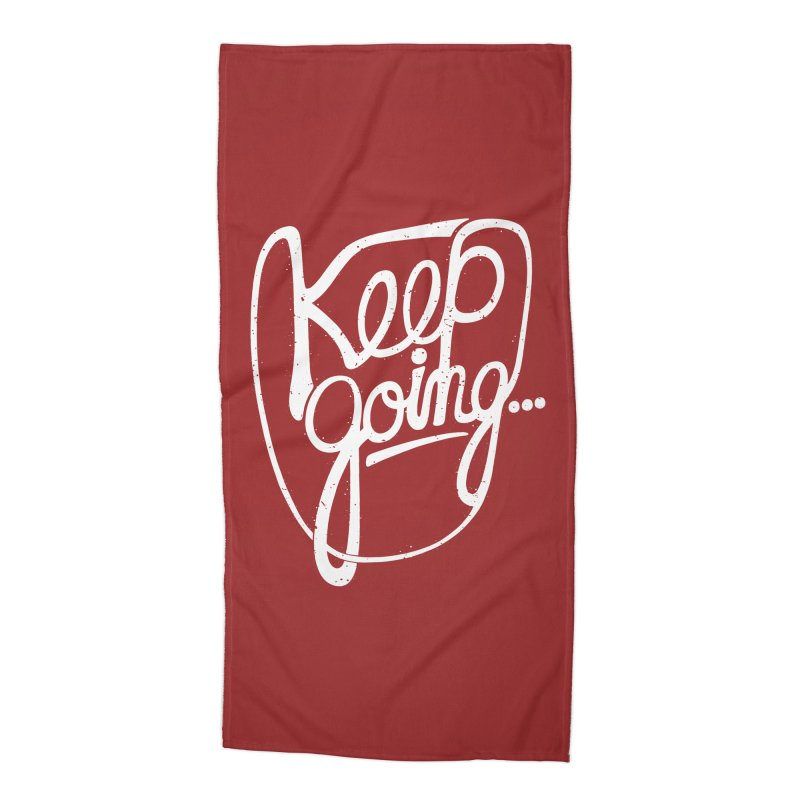 KEEP GO/NG Accessories Beach Towel by DYLAN'S SHOP