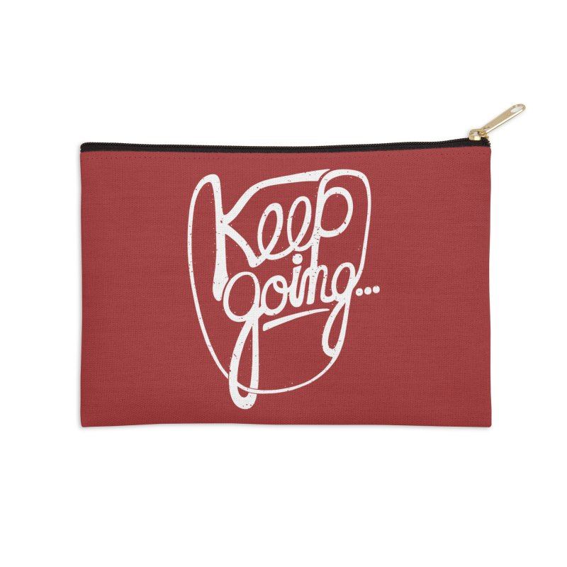 KEEP GO/NG Accessories Zip Pouch by DYLAN'S SHOP