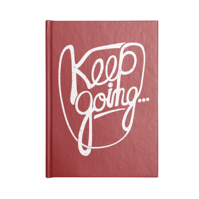KEEP GO/NG Accessories Notebook by DYLAN'S SHOP