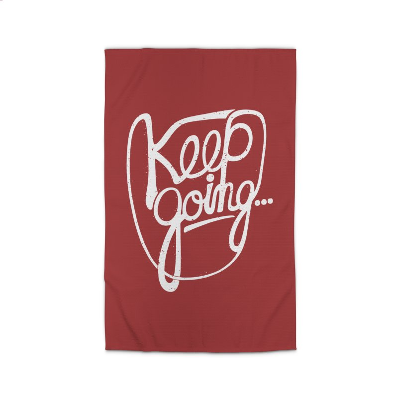 KEEP GO/NG Home Rug by DYLAN'S SHOP
