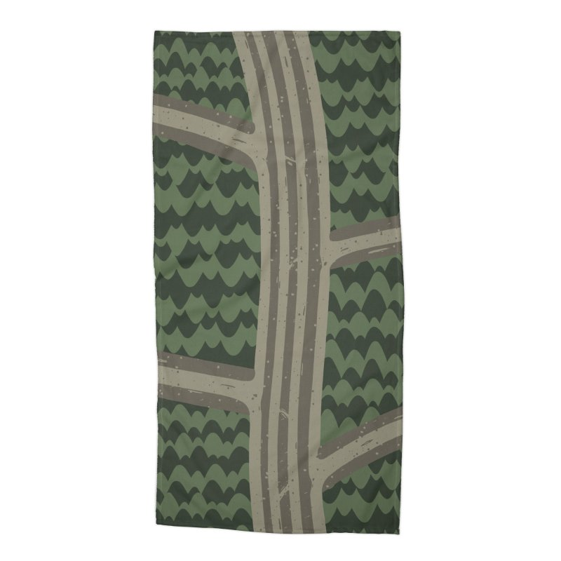 BACKROADS Accessories Beach Towel by DYLAN'S SHOP