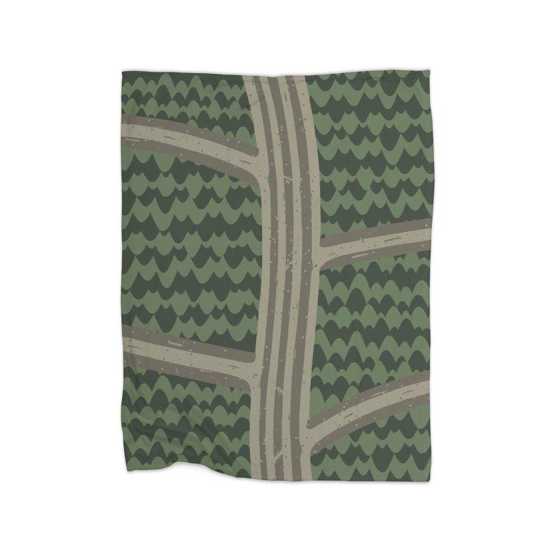 BACKROADS Home Blanket by DYLAN'S SHOP
