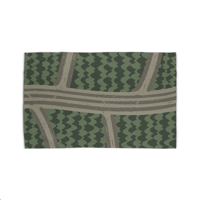 BACKROADS Home Rug by DYLAN'S SHOP