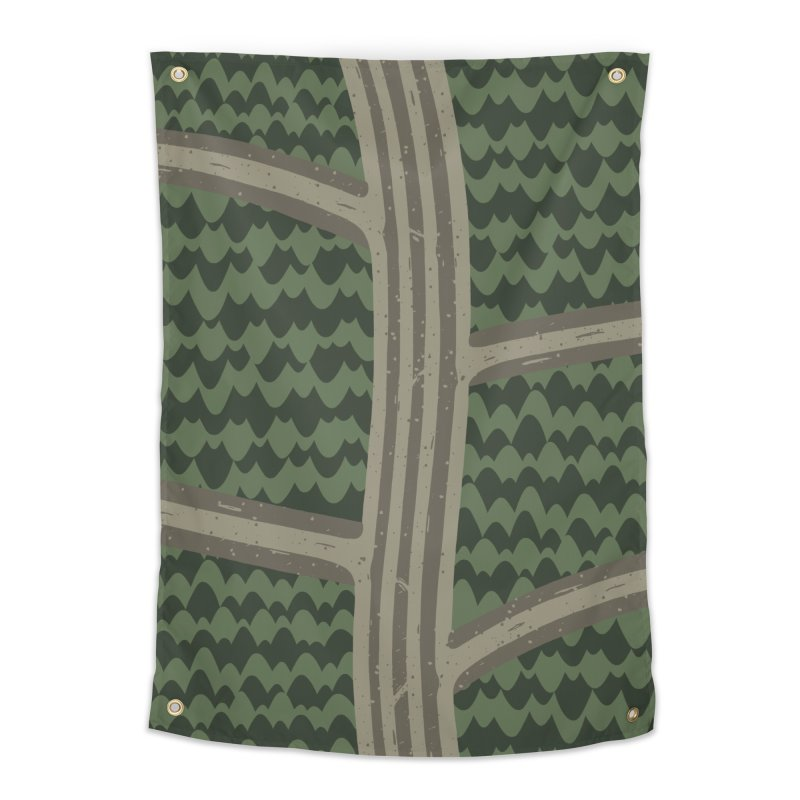 BACKROADS Home Tapestry by DYLAN'S SHOP