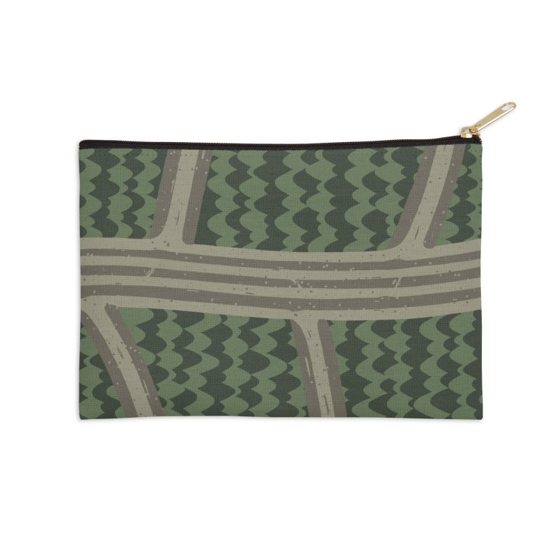 BACKROADS Accessories Zip Pouch by DYLAN'S SHOP