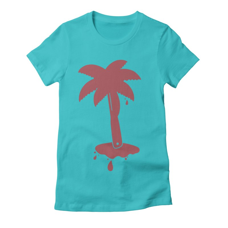 TROPIK/LL Women's Fitted T-Shirt by DYLAN'S SHOP