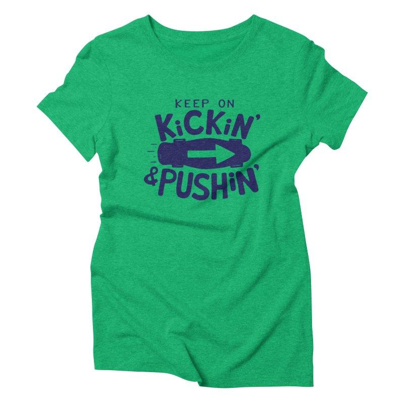 SK\TE Women's Triblend T-shirt by DYLAN'S SHOP