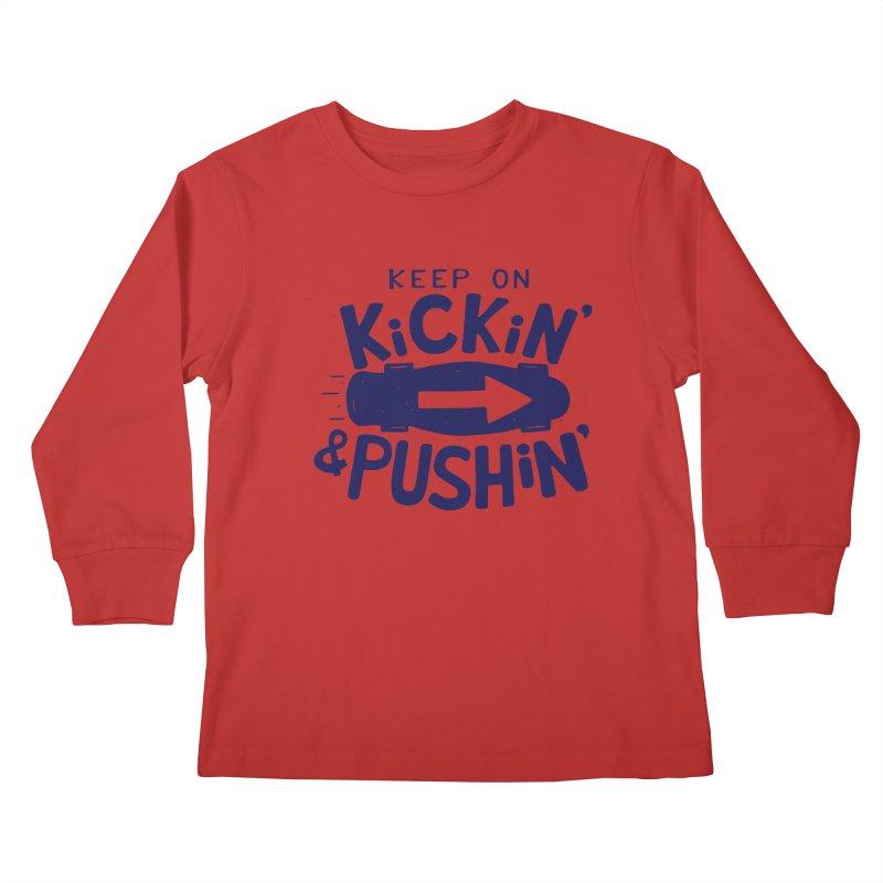 SK\TE Kids Longsleeve T-Shirt by DYLAN'S SHOP