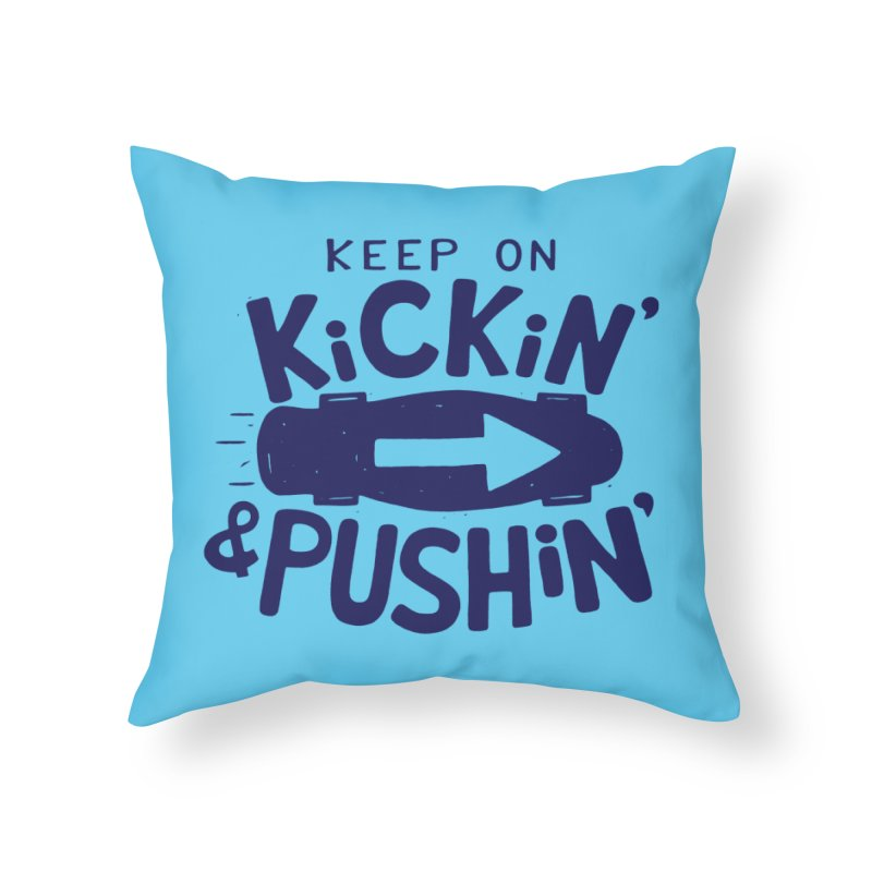 SK\TE Home Throw Pillow by DYLAN'S SHOP