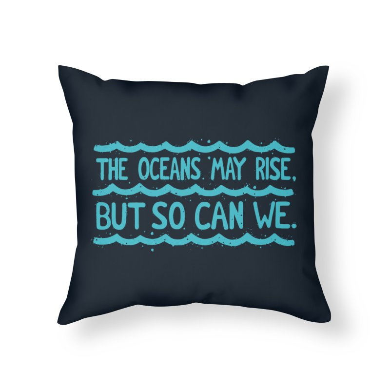 R/SE Home Throw Pillow by DYLAN'S SHOP