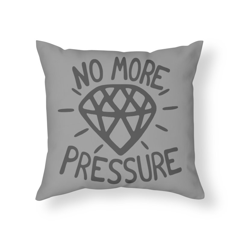 D/AMOND Home Throw Pillow by DYLAN'S SHOP