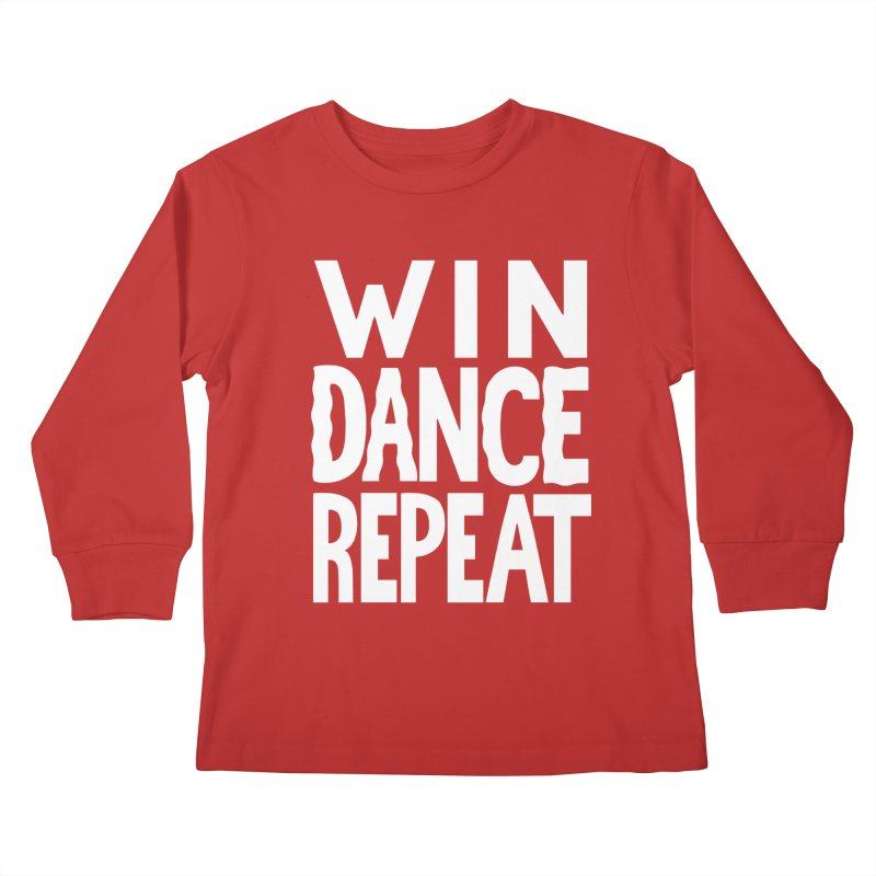 W/N D\NCE REPE\T Kids Longsleeve T-Shirt by DYLAN'S SHOP