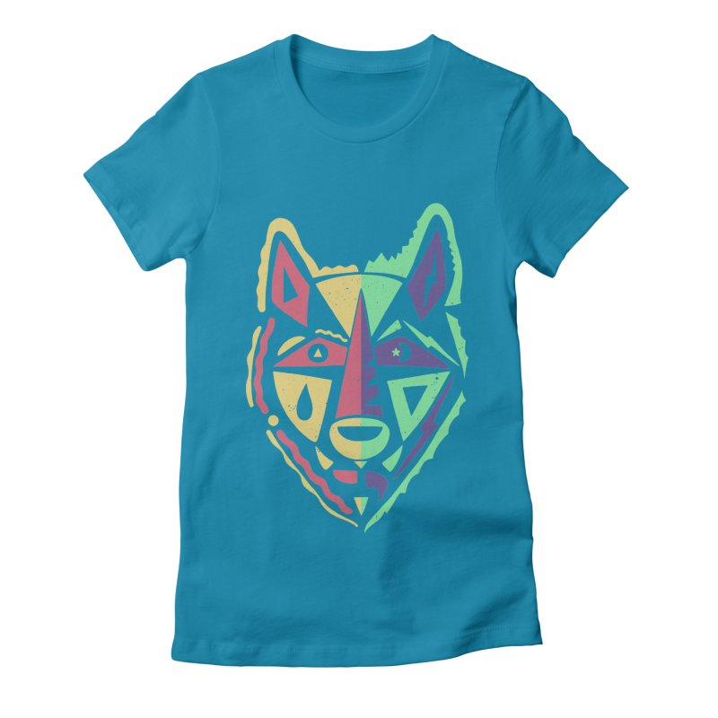 D\Y & N/GHT Women's Fitted T-Shirt by DYLAN'S SHOP