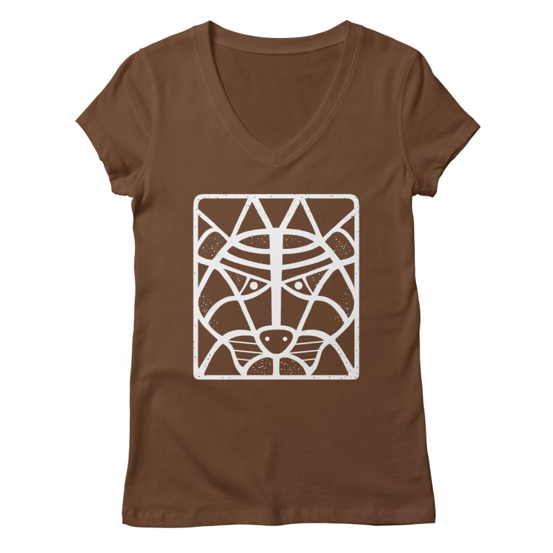T/GER Women's V-Neck by DYLAN'S SHOP