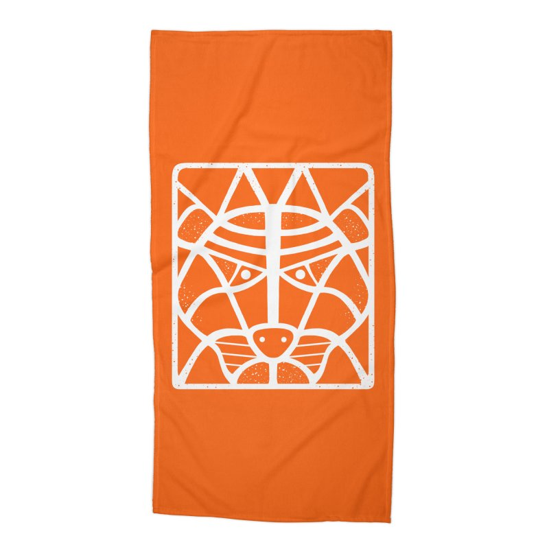 T/GER Accessories Beach Towel by DYLAN'S SHOP