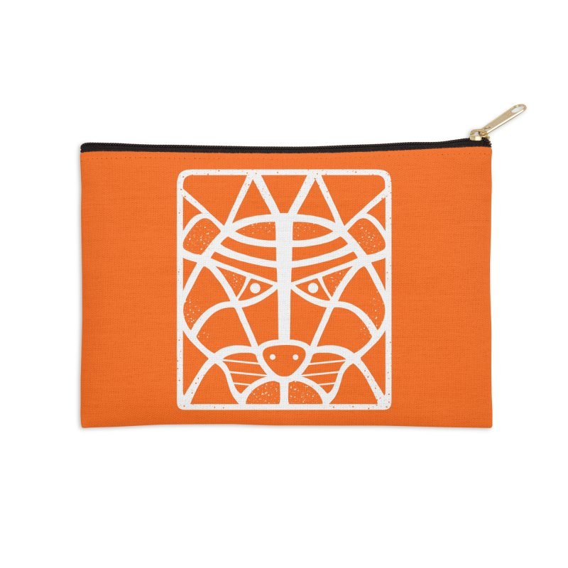 T/GER Accessories Zip Pouch by DYLAN'S SHOP