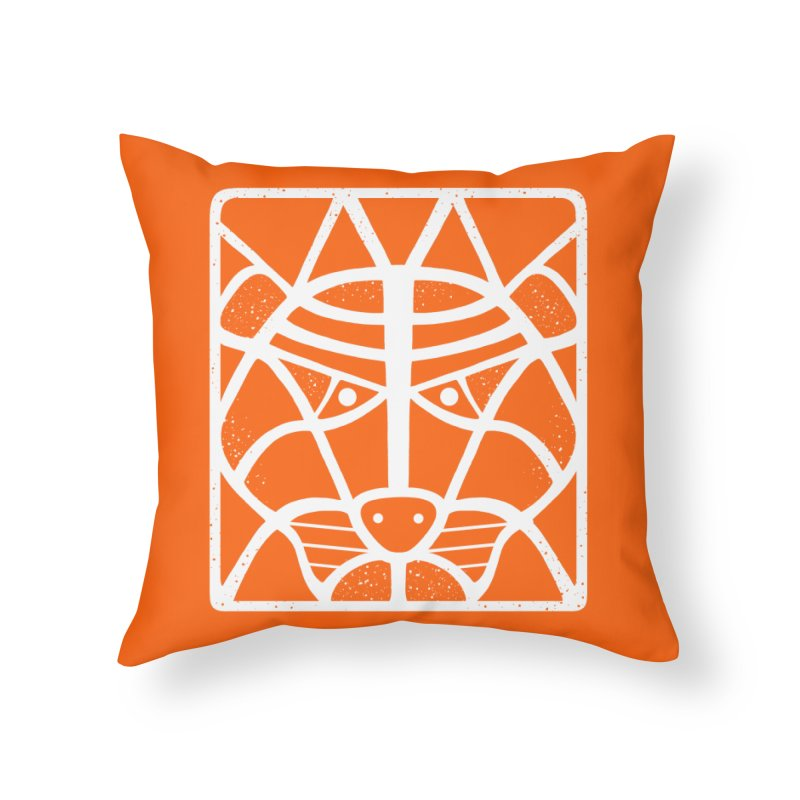 T/GER Home Throw Pillow by DYLAN'S SHOP
