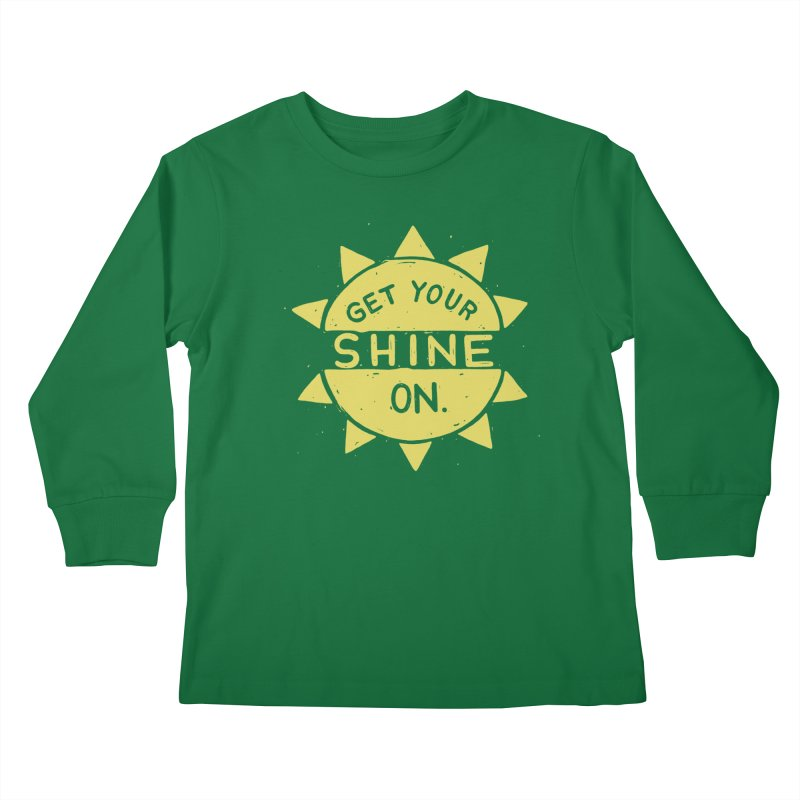 SH/NY Kids Longsleeve T-Shirt by DYLAN'S SHOP