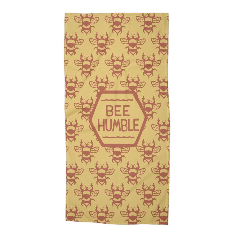 BEE HUMBLE Accessories Beach Towel by DYLAN'S SHOP