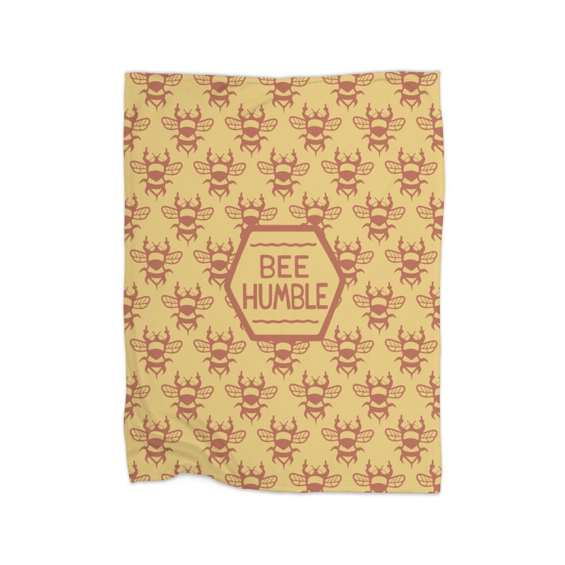 BEE HUMBLE Home Fleece Blanket by DYLAN'S SHOP