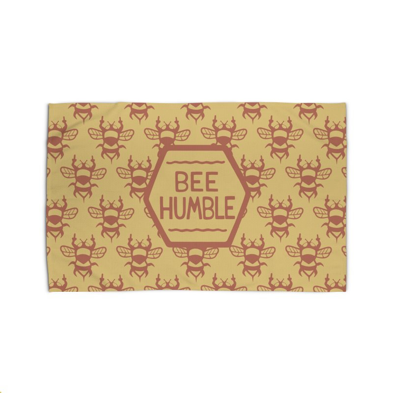 BEE HUMBLE Home Rug by DYLAN'S SHOP