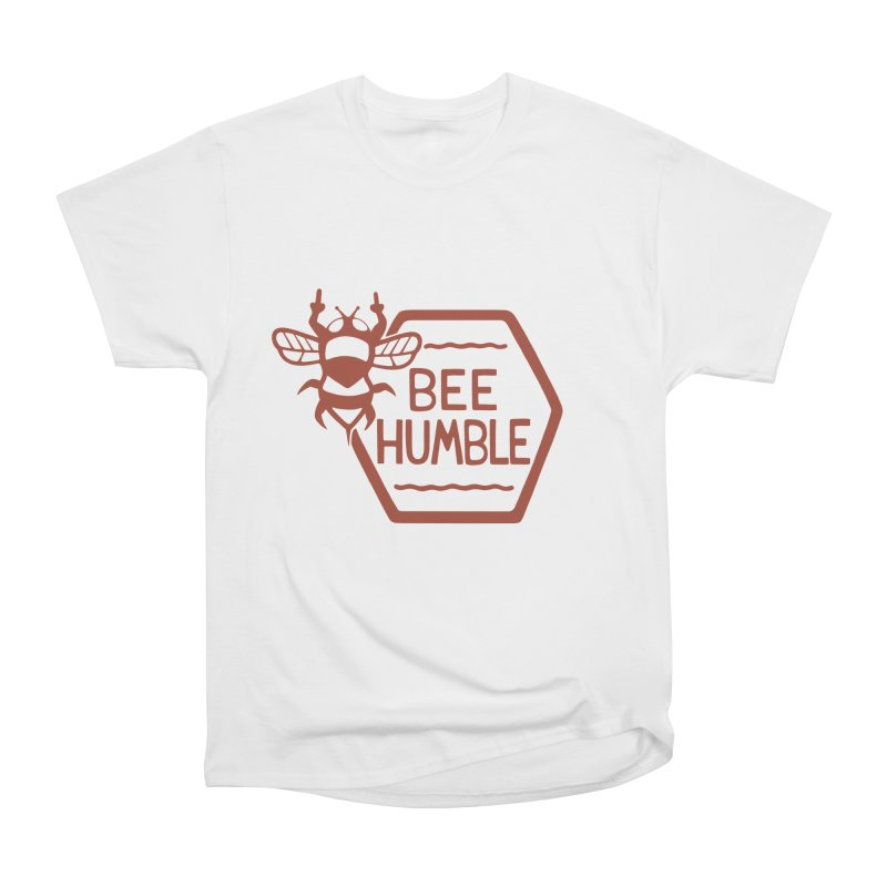 BEE HUMBLE Men's Heavyweight T-Shirt by DYLAN'S SHOP