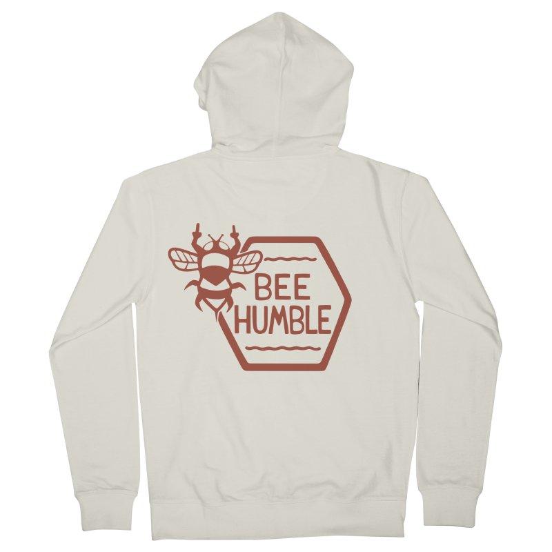 BEE HUMBLE Men's Zip-Up Hoody by DYLAN'S SHOP