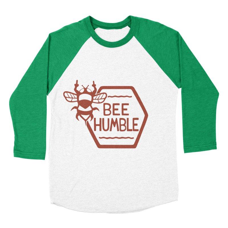 BEE HUMBLE Women's Baseball Triblend T-Shirt by DYLAN'S SHOP