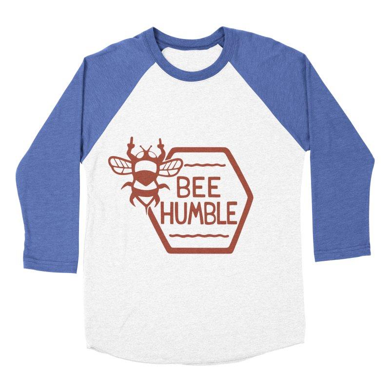 BEE HUMBLE Men's Baseball Triblend Longsleeve T-Shirt by DYLAN'S SHOP