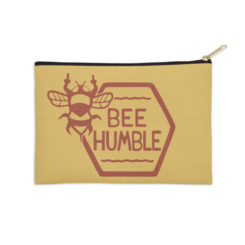 BEE HUMBLE Accessories Zip Pouch by DYLAN'S SHOP