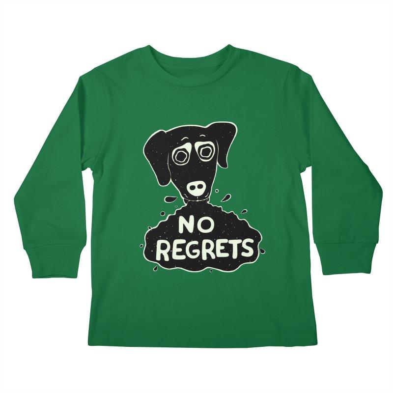 HVNGOVER HOVND Kids Longsleeve T-Shirt by DYLAN'S SHOP