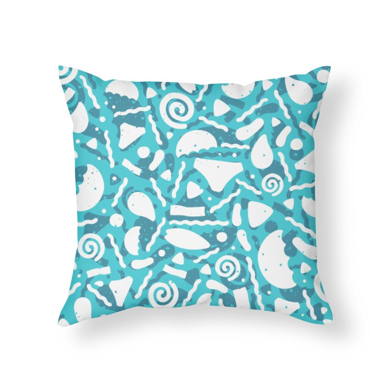 MOCEAN Home Throw Pillow by DYLAN'S SHOP