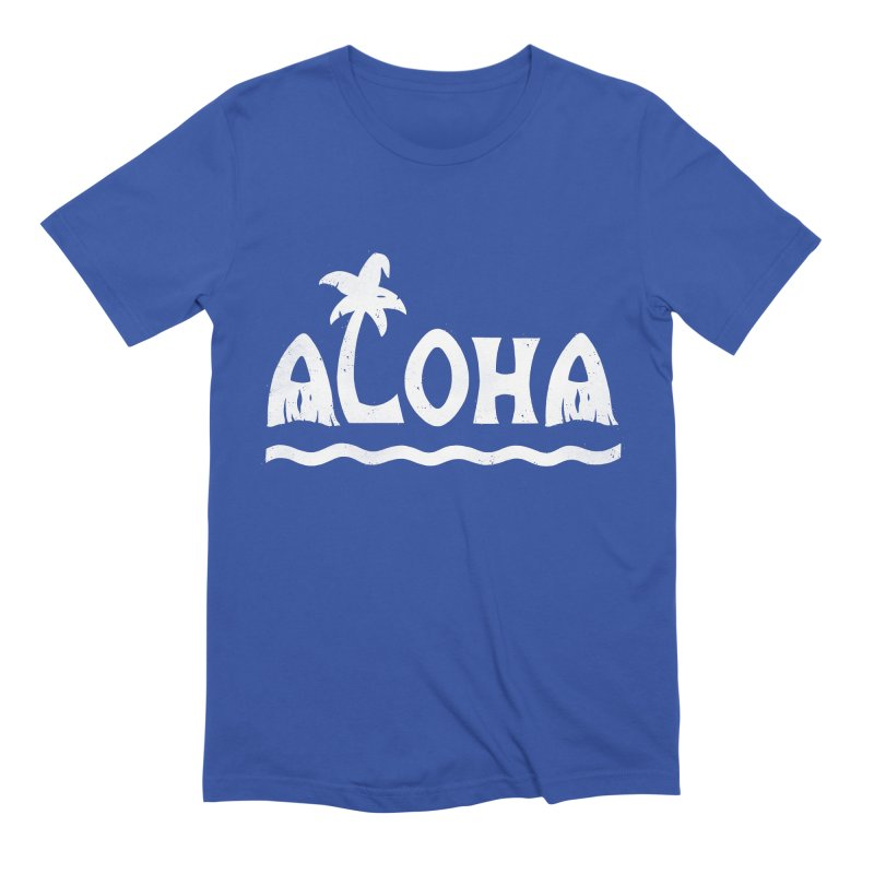 ALOHA! Men's T-Shirt by DYLAN'S SHOP