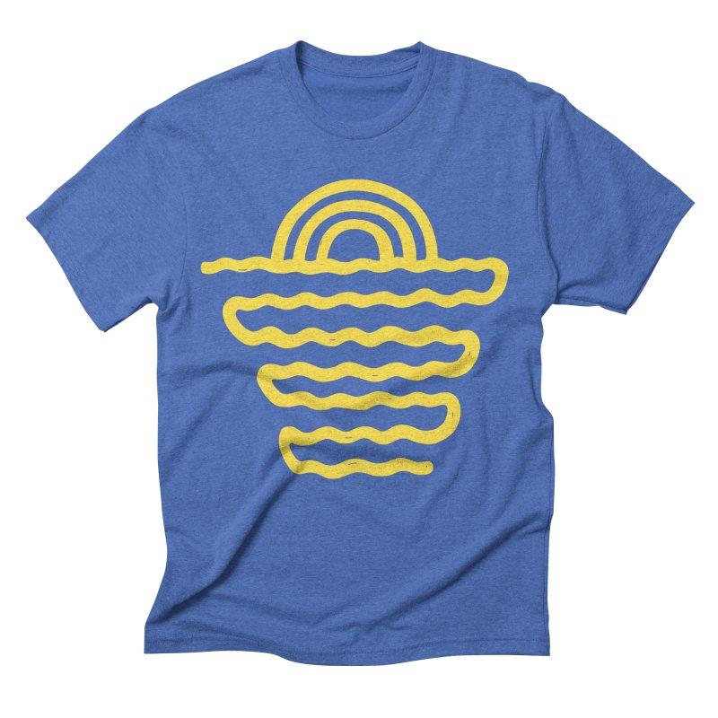 CO\STL/NE Men's Triblend T-Shirt by DYLAN'S SHOP