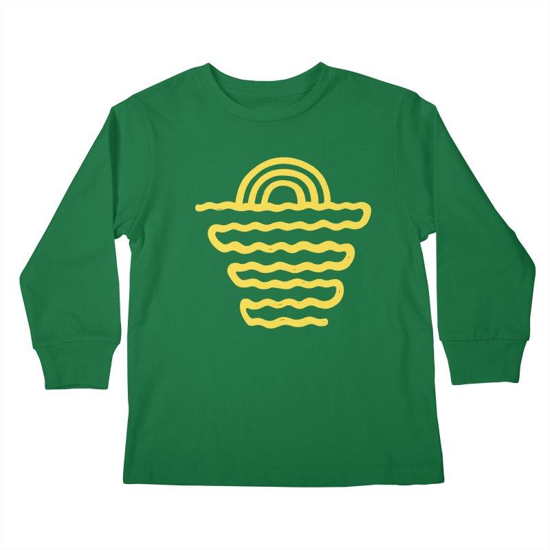 CO\STL/NE Kids Longsleeve T-Shirt by DYLAN'S SHOP