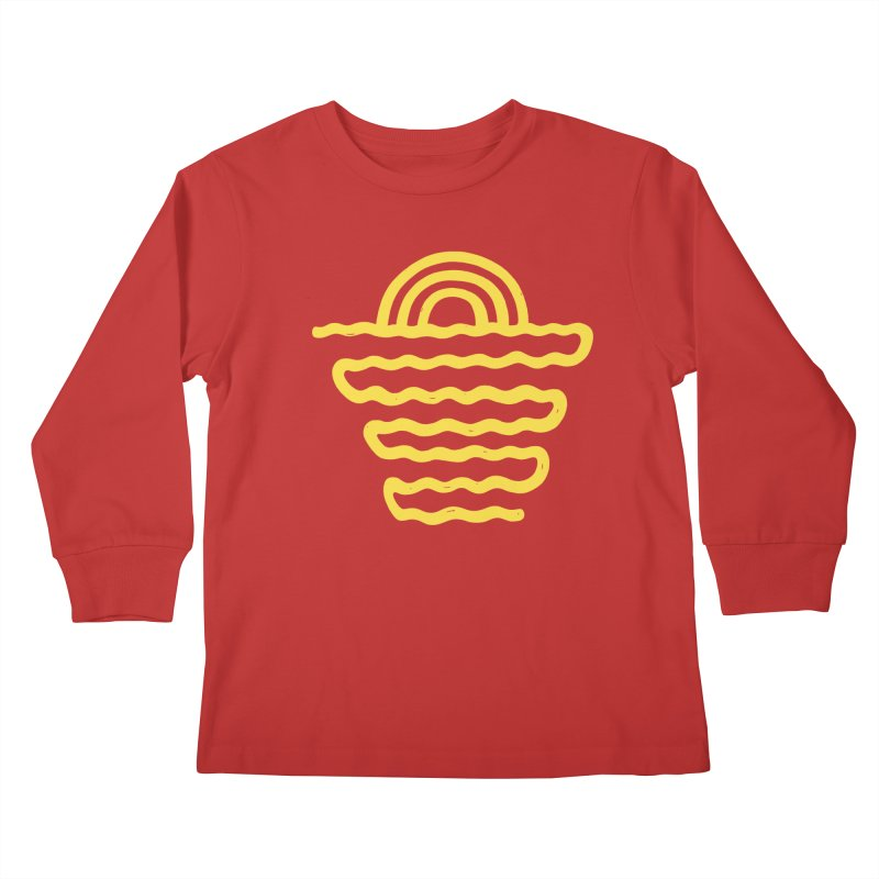 CO\STL/NE Kids Longsleeve T-Shirt by DYLAN'S SHOP