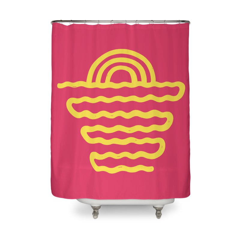 CO\STL/NE Home Shower Curtain by DYLAN'S SHOP