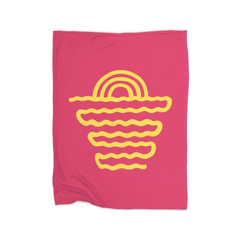 CO\STL/NE Home Fleece Blanket by DYLAN'S SHOP